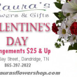 Lauras Flowers Valentines Day 2014