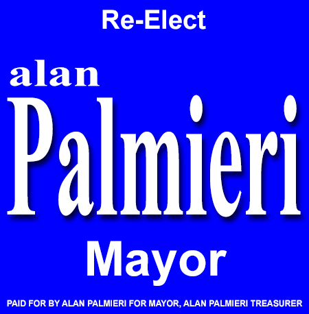 Alan Palmieri Re Elect Mayor Ad 450