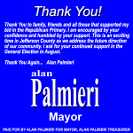 Alan Palmieri Thank You 450