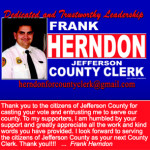 Frank Herndon Ad 3x5 Thank You