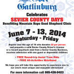 Sevier County Days 2014