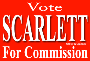 John Neal Scarlett For County Commission Ad 2014