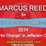 Marcus Reed Commission Election Ad