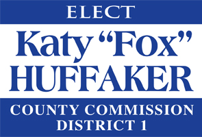 Katy Huffaker County Commission Ad 1 06122014