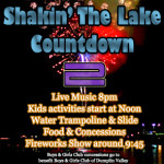 Shakin The Lake Fireworks Countdown 2 2014