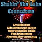 Shakin The Lake Fireworks Countdown 3 2014