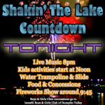 Shakin The Lake Fireworks Countdown 4 2014