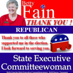 Betty Fain 2 Thank You