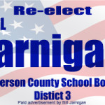 Bill Jarnigan School board 2