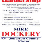 Letter Ad Mike Dockery