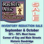 Rachels Attic Inventory Reduction Sale 2014