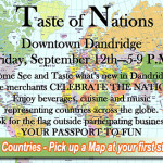 Taste of Nations 2014