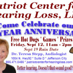 Patriot Center for Hearing Loss Anniversary Proof 09022014