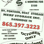 Pontoon Storage Ad