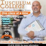 Tusculum College Criminal Justice Ad Workspace 6