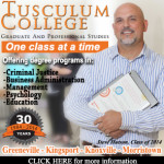 Tusculum College Criminal Justice Ad Workspace 7