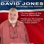 David Jones Thank You