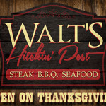 Walts Open Thanksgiving