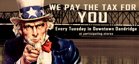 We Pay The Tax Uncle Sam Ad 450