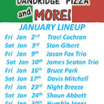 Dandridge Pizza and More Music Lineup January 2015