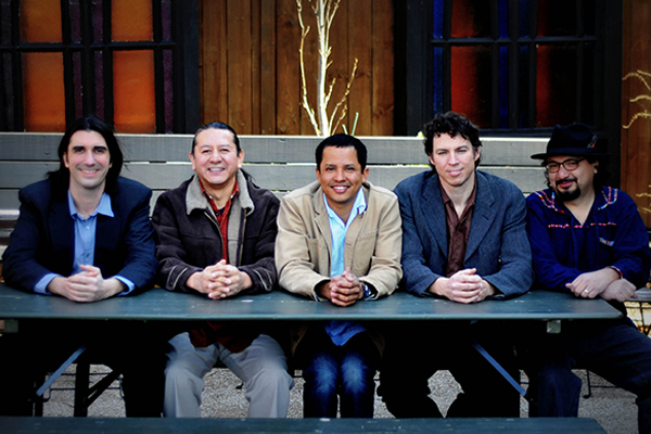 Appalatin, a band that combines the sounds of Appalachia and Latin America, will make its regional debut as part of Walters State's Mildred Haun Conference Feb. 6-7. (photo by Bill Ivester)