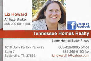 Liz Howard Tennessee Homes Realty