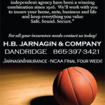 Jarnagin Insurance A-O Basketball Ad