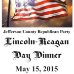 Jefferson County Republican Party Lincoln Reagan Dinner 2015