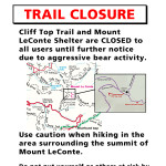 Microsoft Word - Cliff Top Trail and Mount LeConte Shelter_Closu