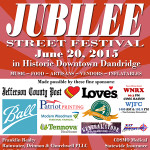 June Jubilee Poster Ad