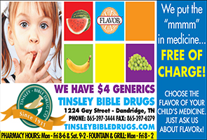 Tinsley Bible Drug Ad 05012015
