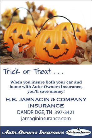 Halloween Auto-Owners Trick or Treat Savings Ad