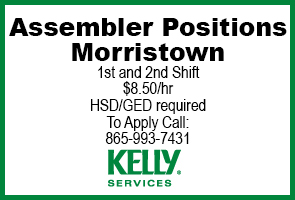 Kelly Services Assembler Positions Ad