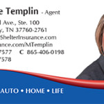 Templin Michelle Business Card Ad