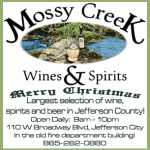Mossy Creek Wine Spirits Christmas 2015