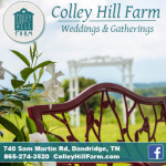 Colley Hill Farm Dandridge TN Ad 01152016