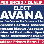 Cavanah for Property Assessor designations