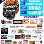 Dumplin Valley Farm Concert Series 2016