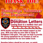 Dandridge Fire Department Thank You cut 3 Ad