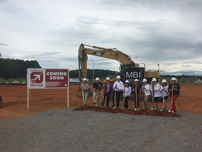 Ground breaking of Morristown South Location: Photo by Samantha Smoak