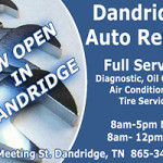 Dandridge Auto Repair Ad 06162016