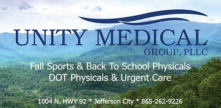 Unity Medical Group 4th July Ad 160 2016