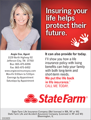 Angie Cox State Farm Ad 06012016