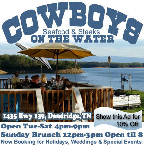 Cowboys On The Water Seafood Steaks Ad 2