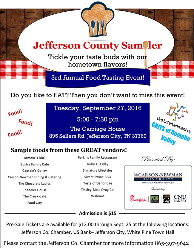 Jefferson County Chamber Sampler 2016