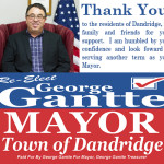George Gantte Thank You 11082016