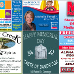 Memorial Day 2017 Feature Ad