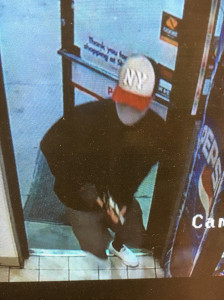 Morristown Police Department is looking for this man, who robbed a Shell gas station on South Cumberland Street early May 25, 2017