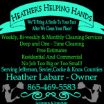 Heather's Helping Hands 06162017