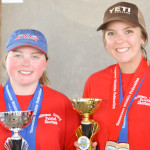 Ladies' Varsity Division High Gun - Kelsey Nelson (99) Ladies' Varsity High Gun Runner Up - Taylor Puls